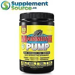 .                                                        Mammoth PUMP, 60 Servings
