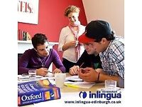General English Courses in Edinburgh's West End! Evening and Daytime Options Available