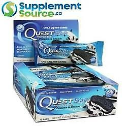 Quest BARS, 12 Bars/Box - 16 Flavours