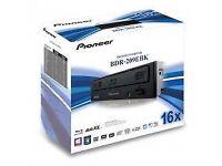 Pioneer BDR-209EBK 16x Blu-ray Re-Writer Quad Layer - 128GB