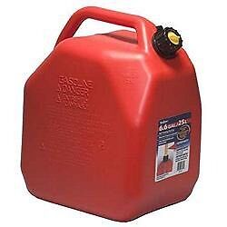 (2) 25L Gas Cans with High Octane Gasoline for Sale