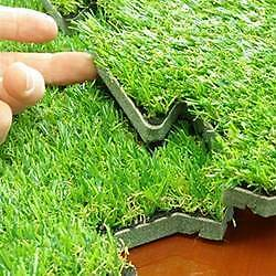 Artificial Grass / Interlocking Synthetic Grass Turf Tiles Hindmarsh Charles Sturt Area Preview