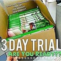Get healthy before Christmas! Set up for January! 3Day Trails!