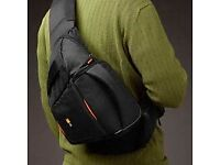 Unused Case Logic Compact Sling Bag with EVA Protection, Hammock, Extra Pockets for SLR Camera