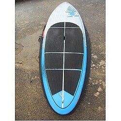 Starboard Wide Point 8'10 Blue Carbon SUP Board