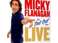 Micky Flanagan tickets for the SSE HYDRO.