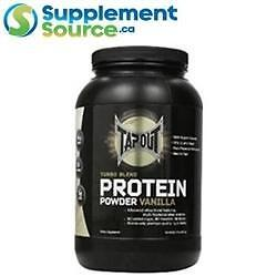 TapouT TURBO BLEND PROTEIN, 2lb - Vanilla