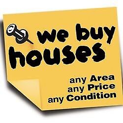 WE BUY HOUSES WITH CASH!!