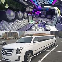Wedding limo stretch limousine night out