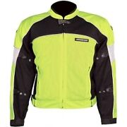 High Vis Motorcycle Jacket