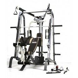 Progression Fitness MD9010 Smith Machine With Weight Plates