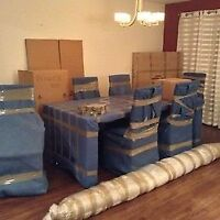April Moving Special - $65/2 Movers + Truck!! Free boxes