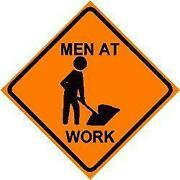 Men Working Sign