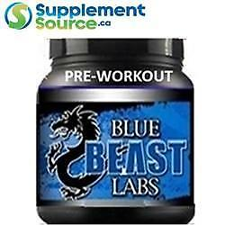 .Blue Beast PRE-WORKOUT (45 Servings), 260g