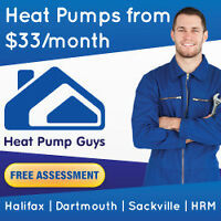 Heat Pumps From $33mth