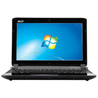 Acer 10.1 inch netbook in good working condition.