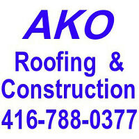 Affordable roofing service,Licensed & WSIB insured 416-788-0377