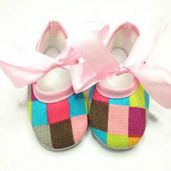 New- 12-18 months Soft Sole Cotton Crib Shoes/Booties Sarnia Sarnia Area image 3
