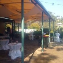11 X round white tablecloths (3m diameter) Woolloomooloo Inner Sydney Preview