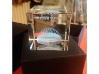 Bobby Moore Wembley Paperweight RRP £25