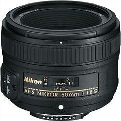 nikon af-s nikkor 50mm f/1.4g lens Campbelltown Campbelltown Area Preview