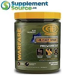 Advanced Genetics WARFARE, 40 Servings