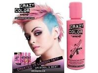 19 ITEMS - Hair Products Hair Dyes Bundle - includes candy floss pink/purple/red/blonde