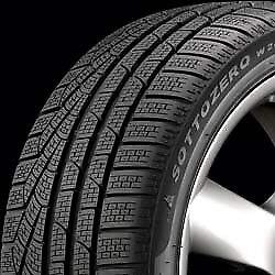 4x pneus d'hiver Pirelli Sottozero 245/45R18 winter tires