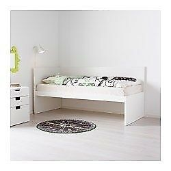 Ikea Flaxa white bed frame and trundle for sale | in Bishopbriggs