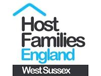 Host Families wanted in Crawley