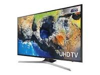 """Samsung 43"""" 4K UHD smart WiFi . HD free view clear crystal picture ."""
