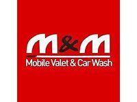 Experienced car valeters
