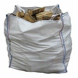 1 bulk bag of seasoned firewood