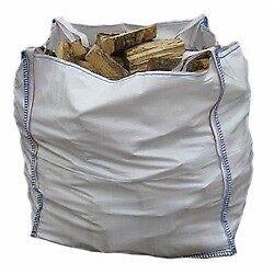 1 bulk bag of seasoned firewood
