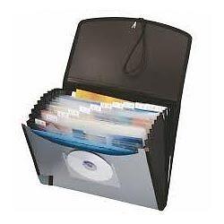 Expanding File folder organizer Black London Ontario image 1