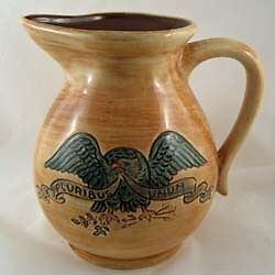 PENNSBURY POTTERY EAGLE PITCHER
