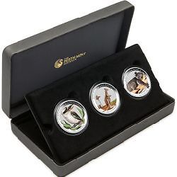The Australian Outback 2012 Coloured Silver Coin Set
