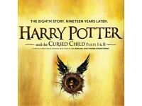 Harry Potter and the Cursed Child tickets - Parts I & II