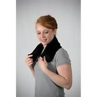 Heat/cold neck wrap with extra sock
