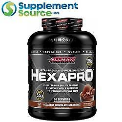 Allmax HEXAPRO (Blended Protein), 5.5lb - Chocolate Peanut Butter