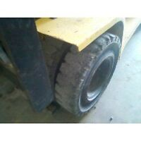 Towmotor tires bald?skidsteers tires got no grip?Call us
