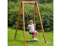 NEW Plum Wooden Single Swing Set Brand New Boxed & SealedRRP £129.99