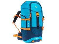 Rucksack Forclaz 40 Teen Blue/orange