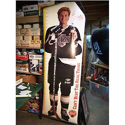 Wayne Gretzky Coca-Cola life size picture poster
