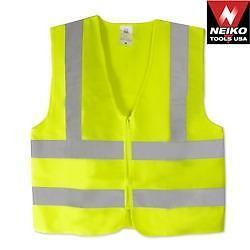 Brand New Orange or Green High Visibility Vest/Dust Mask