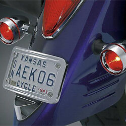 Motorcycle Anti-Photo License Plate Cover: Huge % Off + Free S&H