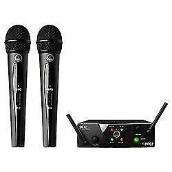 AKG WMS40 MICROPHONES -SINGLE MIC OR DOUBLE SET - BRAND NEW, INCREDIBLE PRICE!!! $110 each