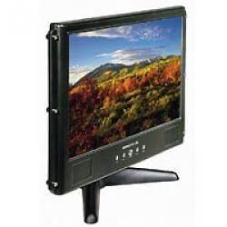"Hannspree 19"" LCD Widescreen Monitor , built in speakers"