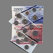 2001 Mint Coin Sets