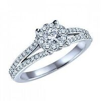 Endless love engagement ring